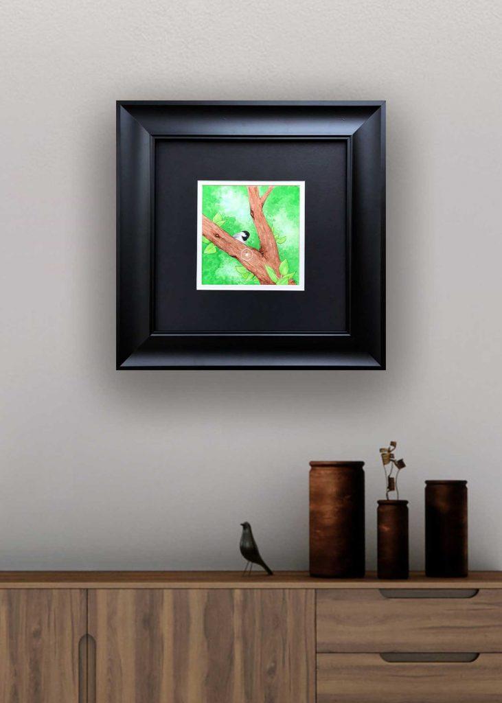 Chickadee Art