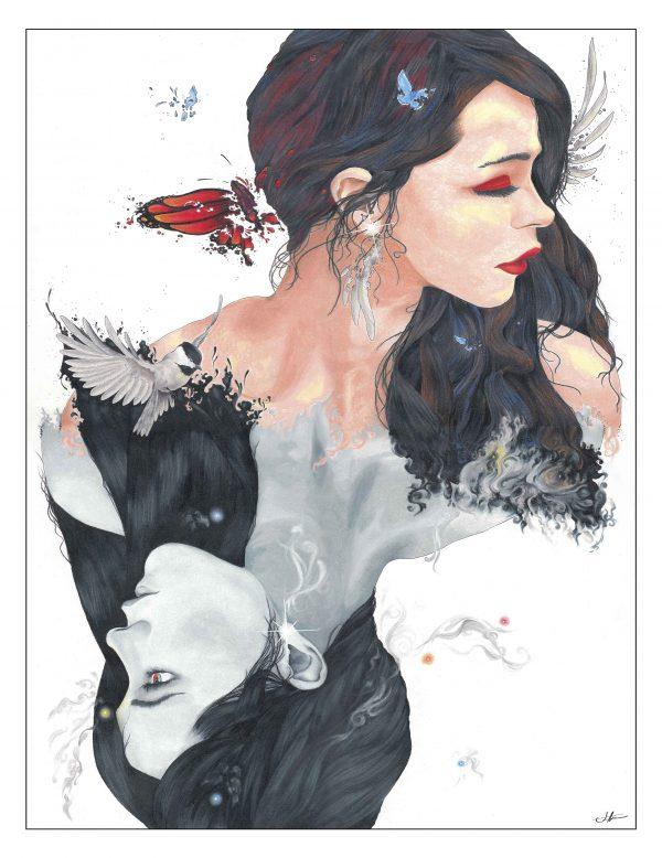 Queen of Spades Art