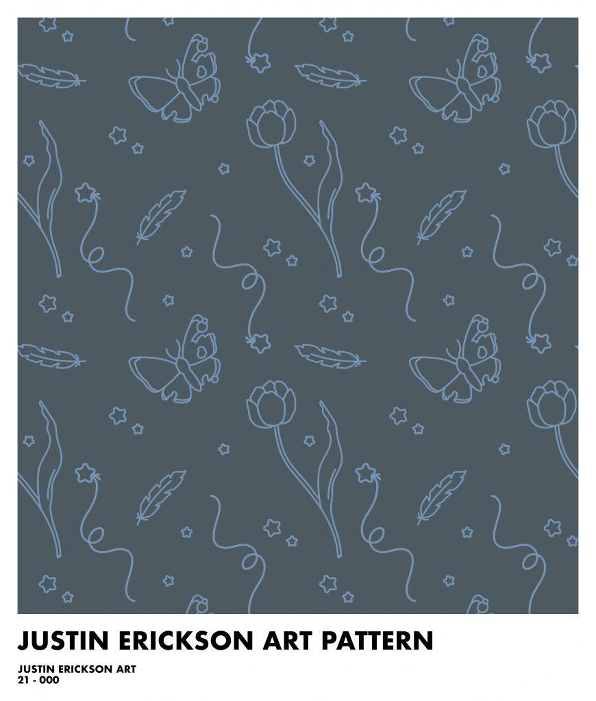 Justin Erickson Art Branding