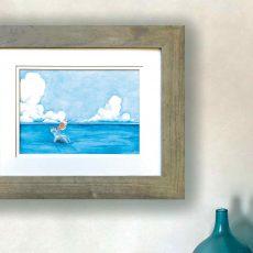 Framed Sandpiper Artwork