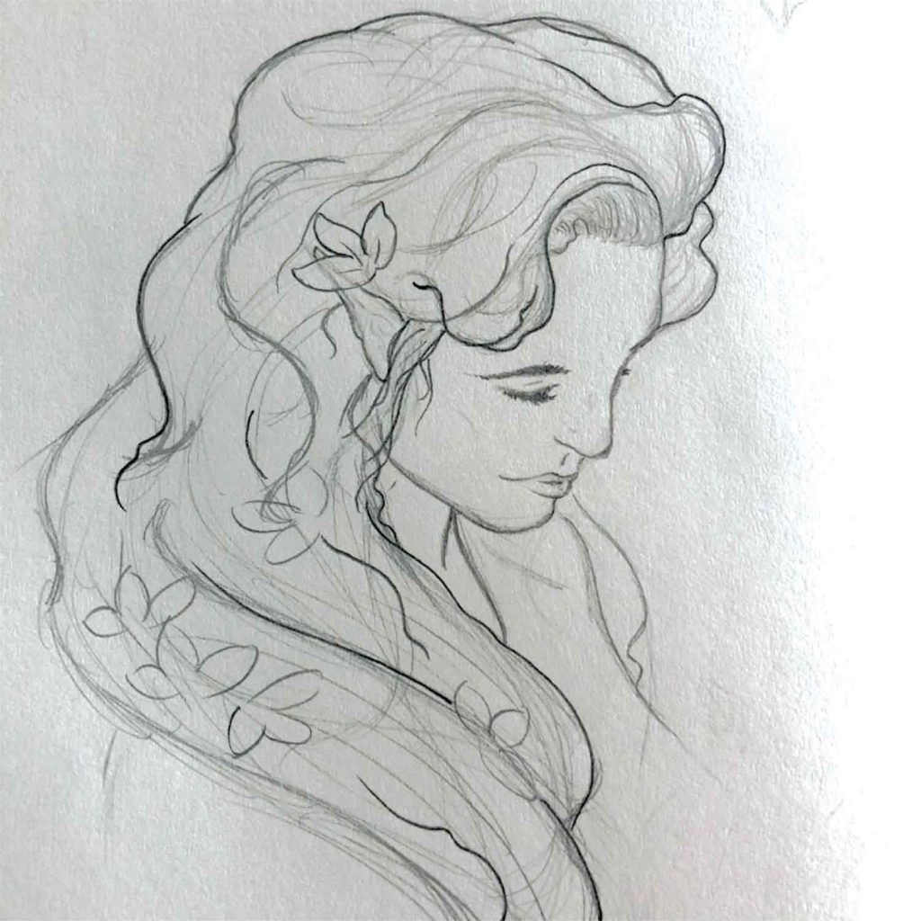 Great Fairy Sketch