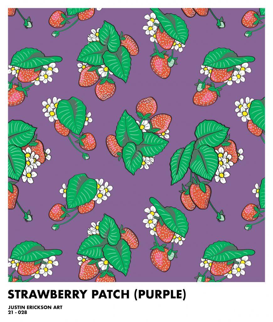 Strawberry Surface Pattern